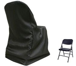 Hire -  Padded Folding Chair with stylish Black cover