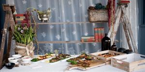 Styling - Rustic savoury food stations POA