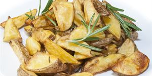 Golden roasted rosemary chats